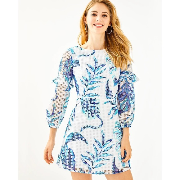 Lilly Pulitzer Laurie eyelet romper